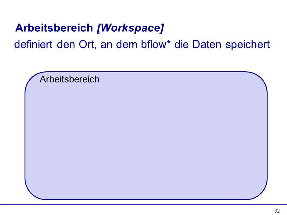 Arbeitsbereich [Workspace]